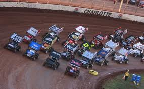 World of Outlaws Sprints in Action